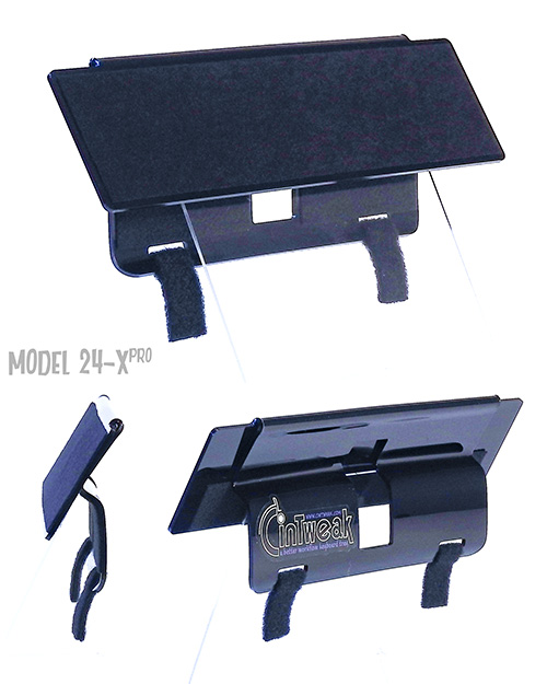 CinTweak 24-Xpro Extended Keyboard Tray for use with the Wacom Cintiq Pro 24 tablet and extended keyboards